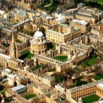 Aerial View of Oxford University