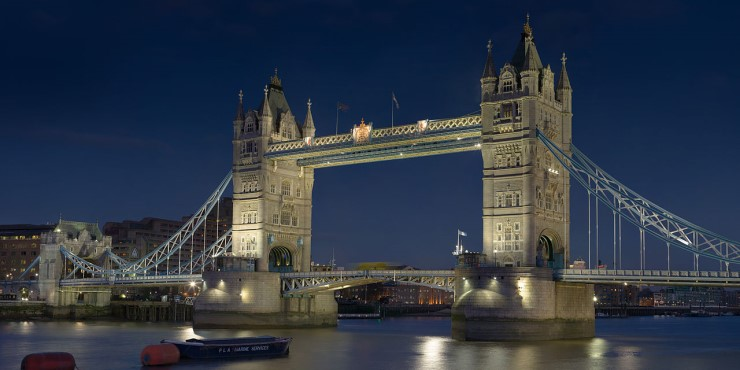 London Bridge. Photo by DAVID ILIFF