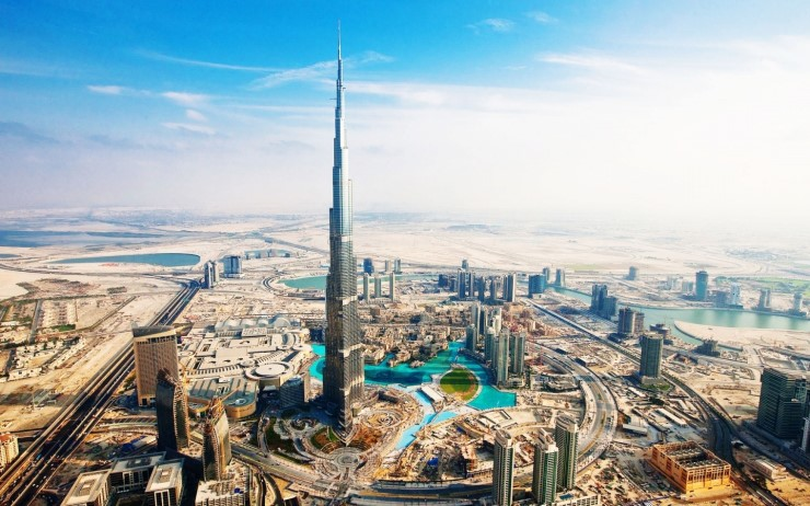migrate to Dubai, Dubai Tourist Attractions Burj Khalifa Tower. Image source theclassytraveler.com