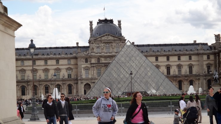Lourve museum, Paris, France tourist visa