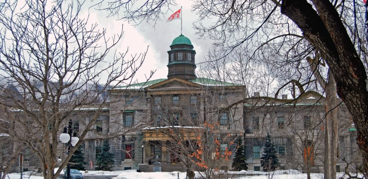McGill University Arts Building, Canada, Canada Student Visa