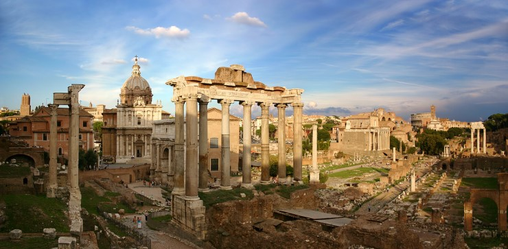 Historic Centre of Rome, Italy. Source Wikipedia