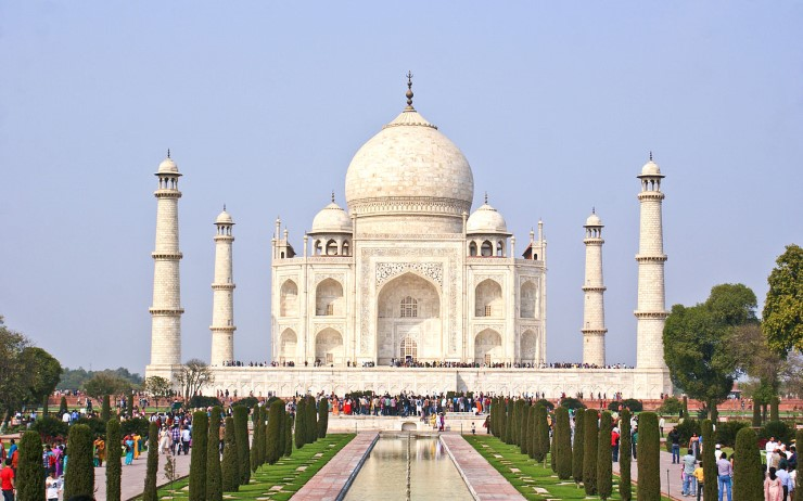 Taj Mahal, Agra. Photographer Subhrajyoti