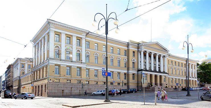 University of Helsinki (Main Building). Photographer Mahlum