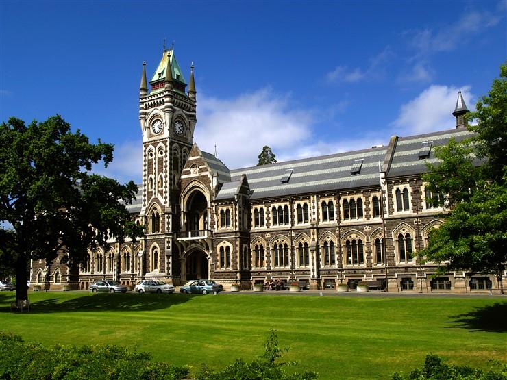 University of Otago, New Zealand. Photographer by Ulrich Lange