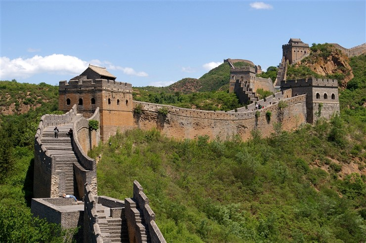 Great Wall of China. Photographer by Jakub Hałun