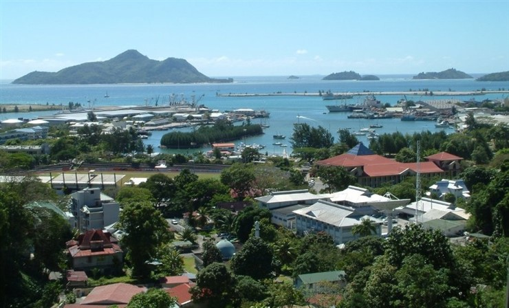 Victoria, capital of Seychelles. Photographer Benutzer