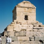Cyrus Tomb, a UNESCO World Heritage Site in Pasargades, Iran https://commons.wikimedia.org/wiki/File:Pasargades_cyrus_cropped.jpg