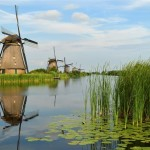The windmills of Kinderdijk, Netherlands by Tarod