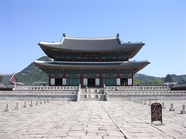 South Korea Tourist Visa, Gyeongbokgung, also known as Gyeongbokgung Palace in South Korea by Blmtduddl