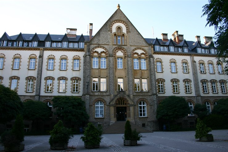 University Luxemburg, Campus Limpertsberg by M. Krimgen