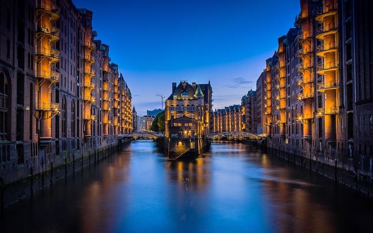 Speicherstadt, Hamburg, Germany, immigrate