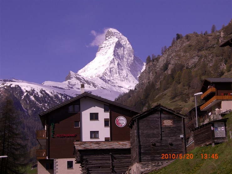 Glacier Paradise View, Zermatt, Switzerland