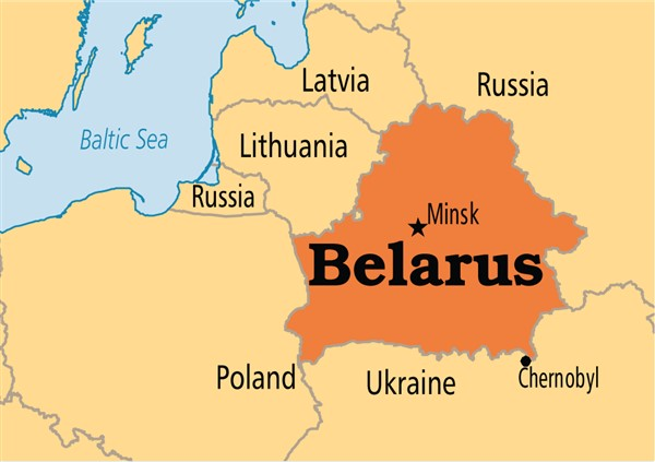Belarus Map. Image Source operationworld.org