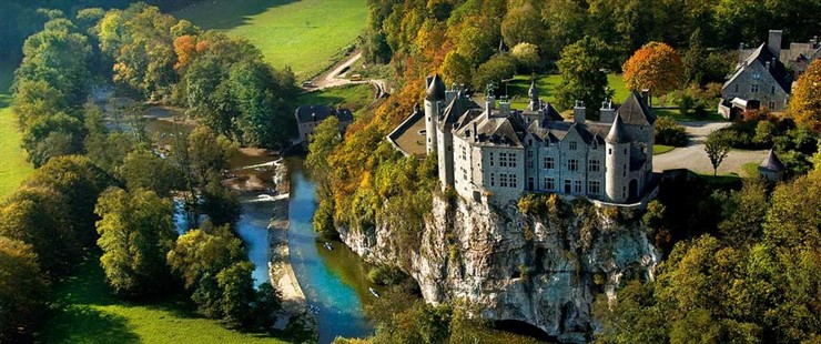 A tourist spot in Belgium. Image source BelgiumTourism.net
