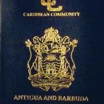 Antigua passport