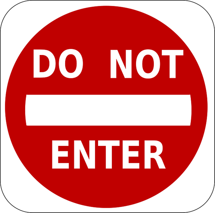 Entry Ban For Visitors